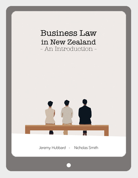 Business Law in New Zealand, 1e, VitalSource eBook