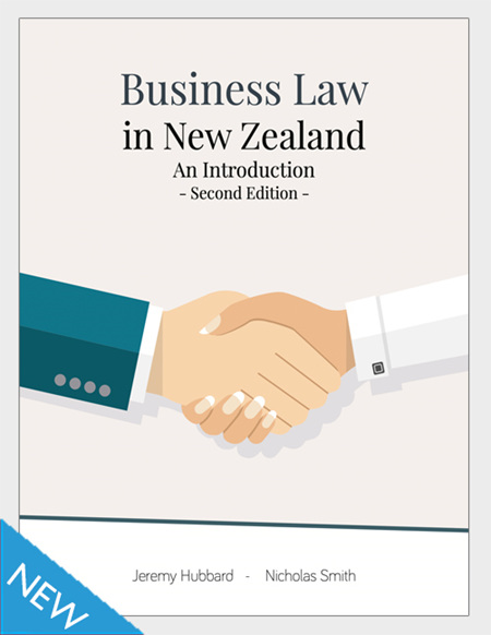 Business Law in New Zealand, 2e
