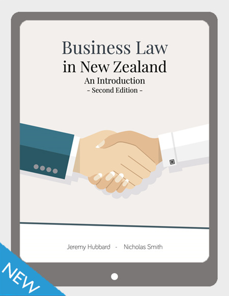 Business Law in New Zealand, 2e,  VitalSource eBook
