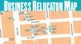 Business Relocation Map