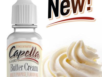 Capella Butter Cream Flavour Concentrate