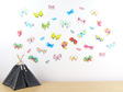 Butterflies wall decal