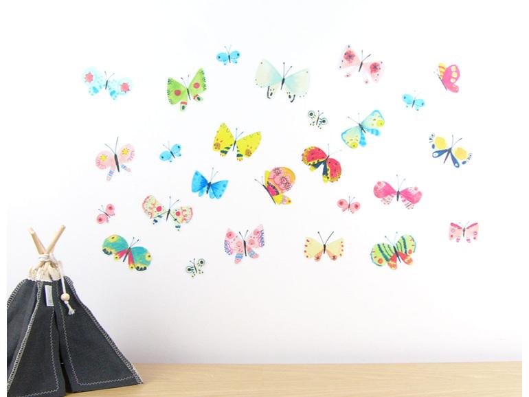 Butterflies wall decal
