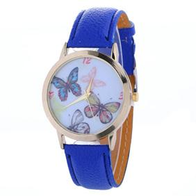 Butterflies Watch - Blue Strap