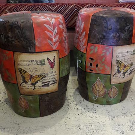 Butterfly Garden Stool - $195