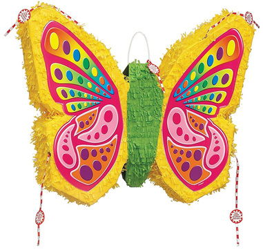 Butterfly pinata.