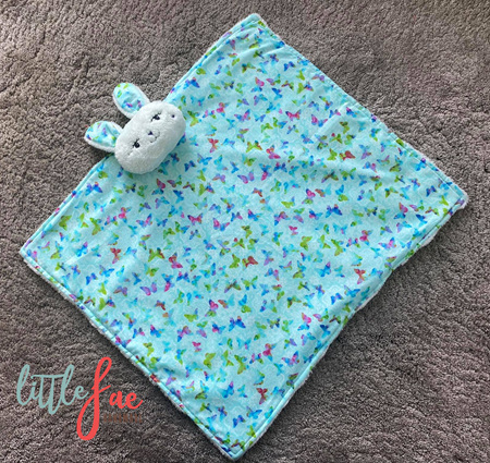 Butterfly Snuggle Bunny Blanket