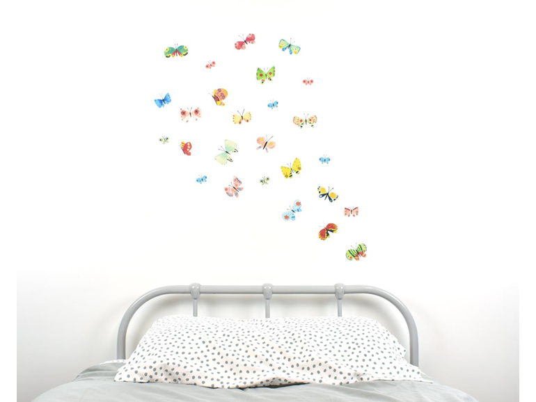 Butterfly wall decal medium