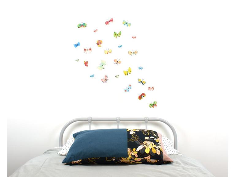 Butterfly wall decal medium