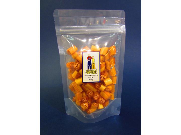butterscotch rock candy bag caramel