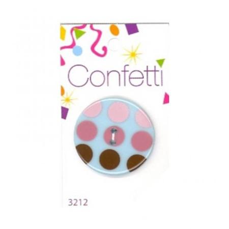 Button x 1: Retro Polka Dots