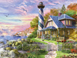 buy at www.puzzlesnz.co.nz Educa 4000 piece jigsaw puzzle Lighthouse Rock Bay