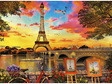 buy at www.puzzlesnz.co.nz Educa 3000 piece jigsaw puzzle Sunset In Paris