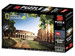 buy at www.puzzlesnz.co.nz national Geographic 3D 500 piece jigsaw Ancient Rome