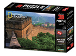 buy at www.puzzlesnz.co.nz national Geographic 3D 500 piece jigsaw Ancient China