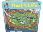 buy at www.puzzlesnz.co.nz Goliath 1000 piece jigsaw puzzle  'Thats Life'  Sport