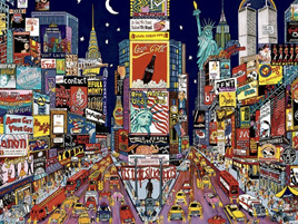 Ceaco 1500 Piece Jigsaw Puzzle: New York