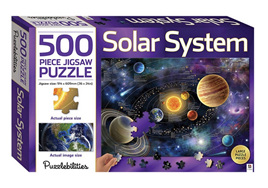 Hinkler Puzzlebilities 500 Piece Jigsaw Puzzle: Solar System