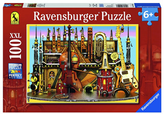 Ravensburger 100 Piece  Jigsaw Puzzle: Music Castle