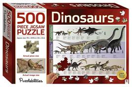 Hinkler Puzzlebilities 500 Piece Jigsaw Puzzle: Dinosaurs