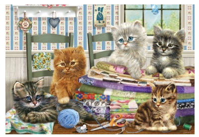 Holdson's 300  Piece Jigsaw Puzzle: Kitty Capers
