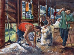 Holdson's 1000 Piece Jigsaw Puzzle: The Shearing Gang