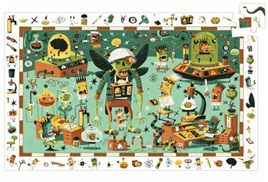 Djeco Observation 200 Piece Jigsaw Puzzle: Crazy Lab