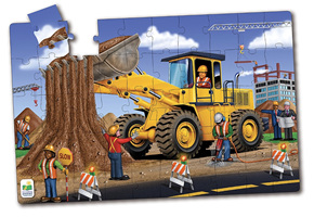 Learning Journey 50 Piece Jumbo Floor Puzzle Dirt Digger