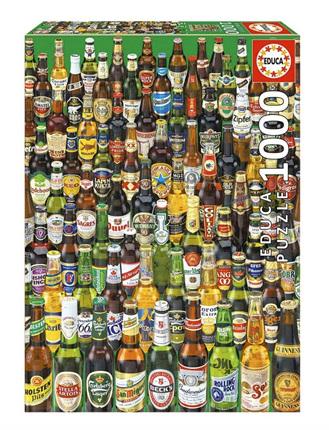 Educa  1000 Piece Jigsaw Puzzle: Beers