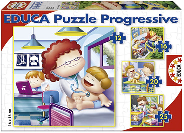 Educa  Jigsaw Puzzles 'What I Want To Be When I Grow Up'