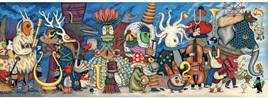 Djeco Gallery 500 Piece Jigsaw Puzzle: Fantasy Orchestra