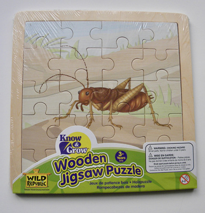 Wild Republic Wood 20 Piece Jigsaw Puzzle:  Weta