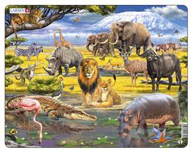 Larsen Tray Jigsaw Puzzle: African Savanna