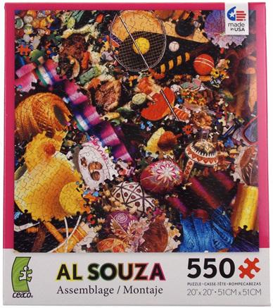 Ceaco 550 Piece Jigsaw Puzzle: Al Souza Assemblage