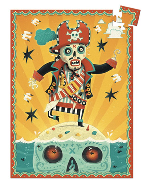 Djeco 60 Piece Mini Jigsaw Puzzle: Captain Bones