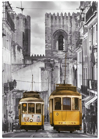 Educa  1500 Piece Jigsaw Puzzle: The Alfama District Lisbon