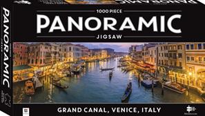 Hinkler Mindboggler 1000 Piece Jigsaw Puzzle:  Panorama Grand Canal Venice