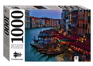 Hinkler Mindboggler 1000 Piece Jigsaw Puzzle: Venice Canal Dusk