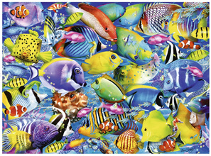 Ravensburger 500 Piece  Jigsaw Puzzle: Tropical Traffic