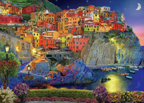 Holdson's 1000 Piece Jigsaw Puzzle: Cinque Terre