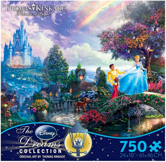 Ceaco 750 Piece Jigsaw Puzzle: Cinderella Wish Upon A Dream