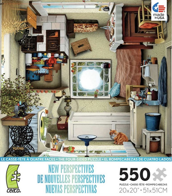 buy at www.puzzlesnz.co.nz Ceaco 550 piece jigsaw puzzle New Perspectives