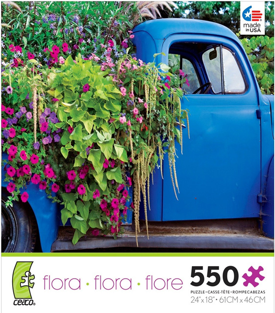 buy at www.puzzlesnz.co.nz Ceaco 550 piece puzzle Flora