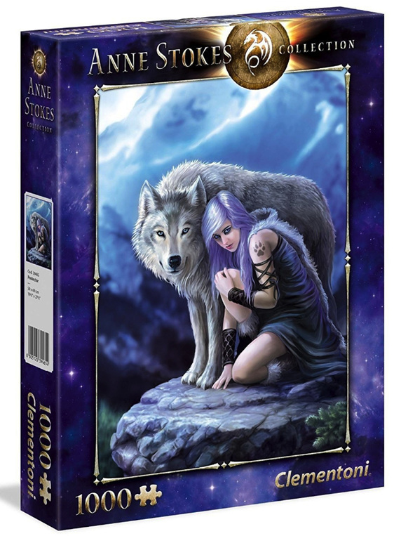 buy at www.puzzlesnz.co.nz Clementoni 1000 piece puzzle Anne Stokes Protector