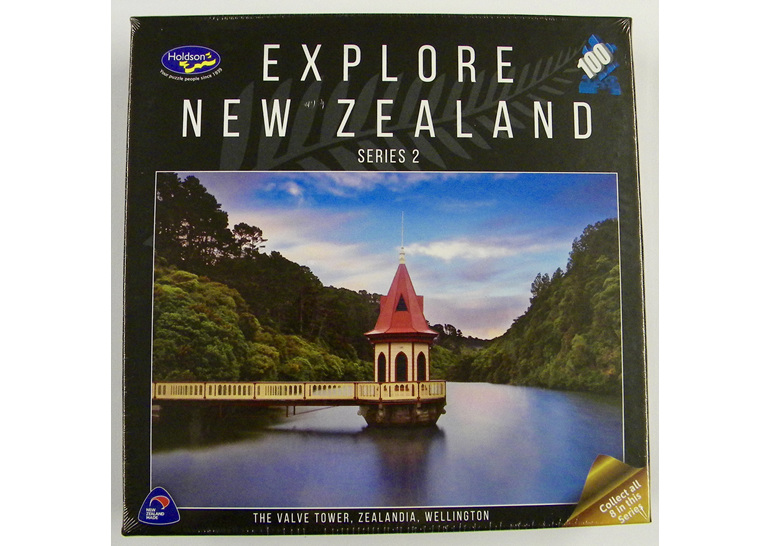 buy at www.puzzlesnz.co.nz  holdson explore NZ 100 piece puzzle Valve Zealandia