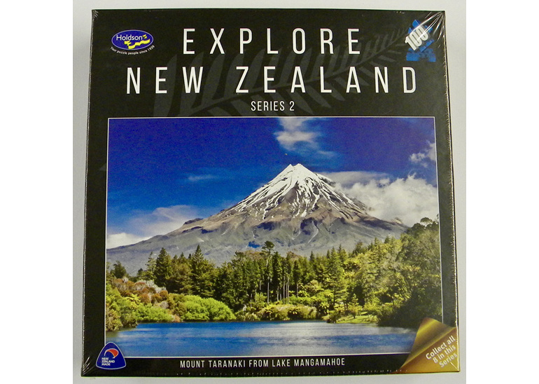 buy at www.puzzlesnz.co.nz  holdson explore NZ 100 piece puzzle Mount Taranaki