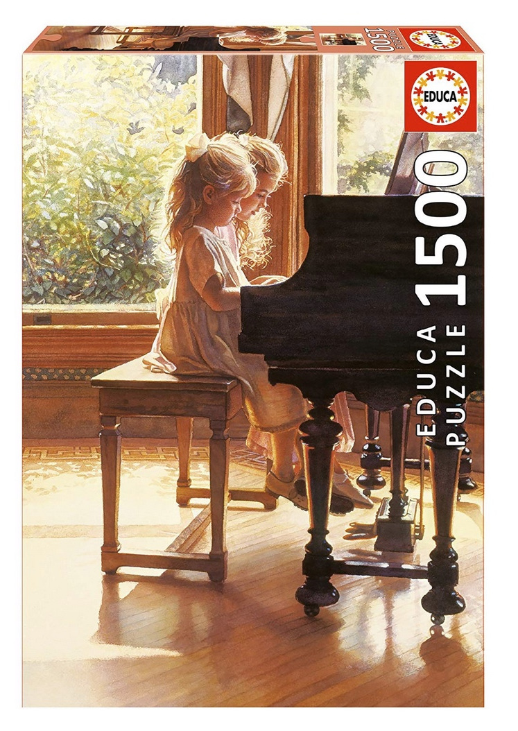 buy at www.puzzlesnz.co.nz Educa 1500 piece jigsaw puzzle Sharing Key Time