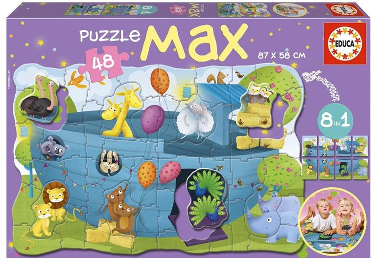 buy at www.puzzlesnz.co.nz Educa 48 piece floor puzzle max Noah's Ark
