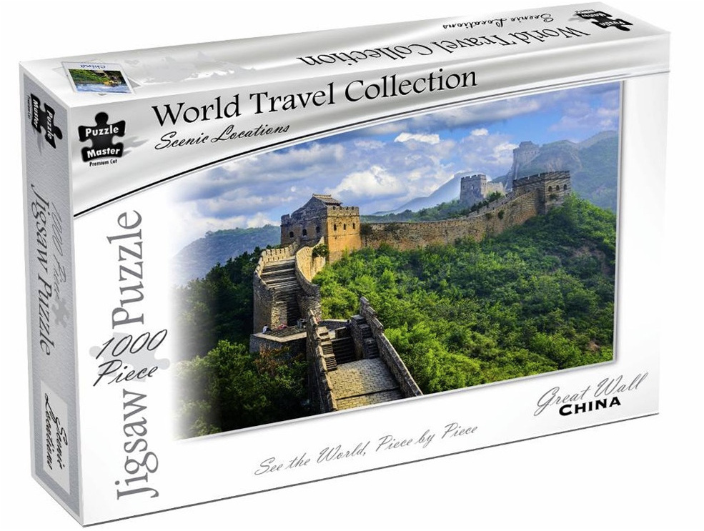 Puzzle Master World Travel Collection 1000 Piece Jigsaw Puzzle: The Great Wall China