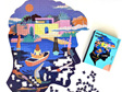 buy at www.puzzlesnz.co.nz Modern World 1046 piece shaped puzzle Serenity